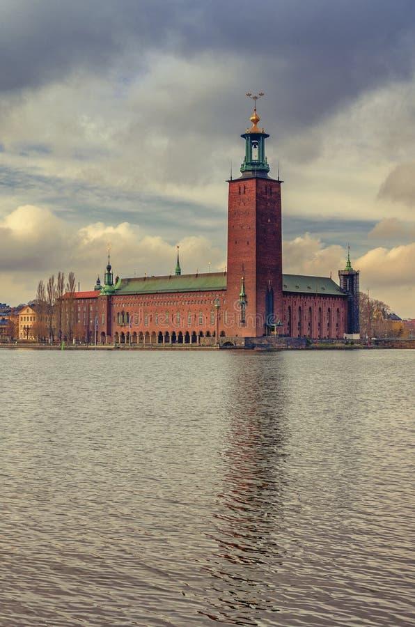 Stockholm City Hal royalty free stock image