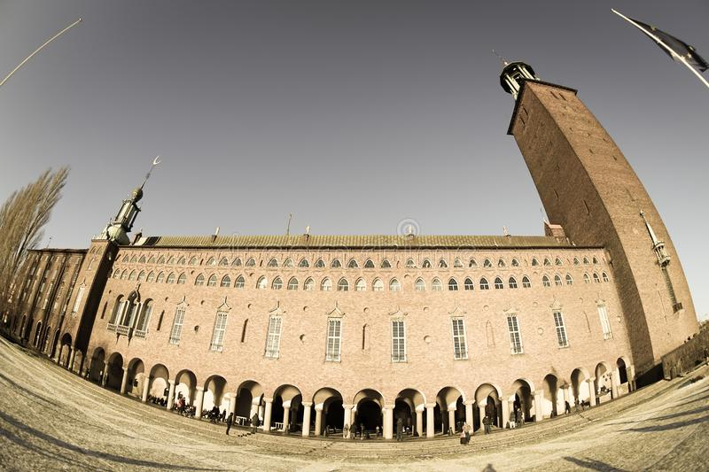 Stockholm City Hall Sweden royalty free stock photography