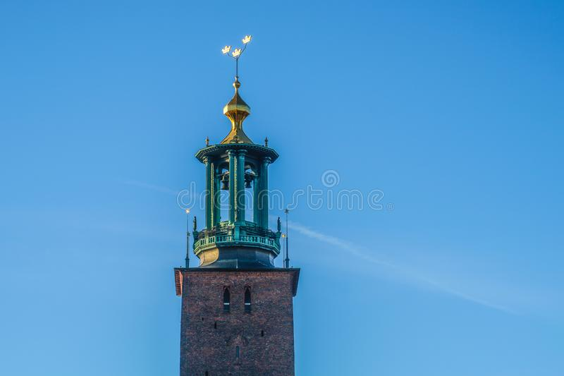 Stockholm City Hall Sweden stock photography