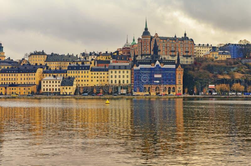 Stockholm city old center stock image