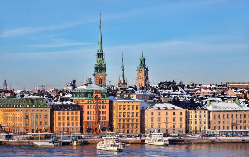 Download Stockholm City, Sweden editorial photography. Image of town - 28906132