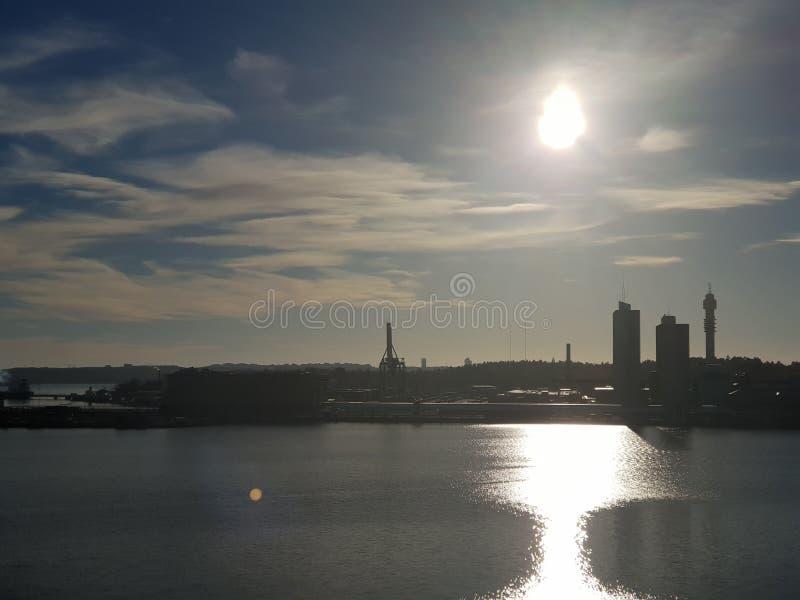Stockholm city view, Sweden. Stockholm city view sweden cityscape urban stock photos