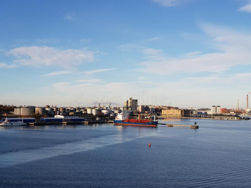 Stockholm city view, Sweden. Stockholm city view sweden cityscape urban royalty free stock photo