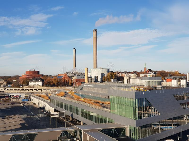 Stockholm city view, Sweden. Stockholm city view sweden cityscape urban royalty free stock image