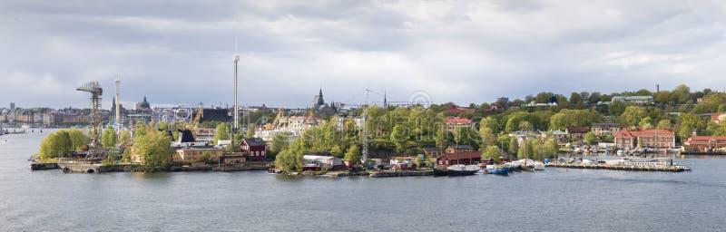 stockholm för munterhetgronalund park sikt royaltyfri bild
