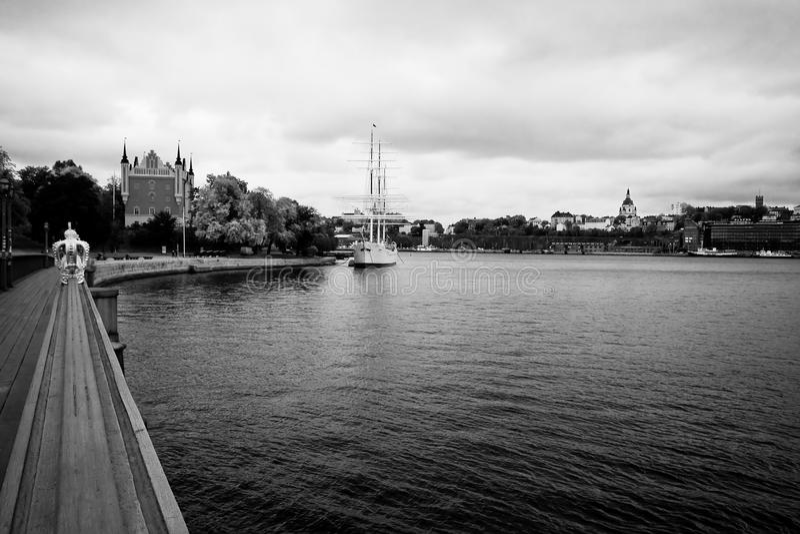 Stockholm fläck. royaltyfri bild