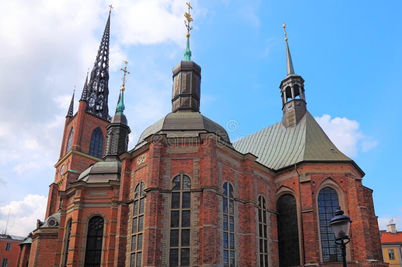Stockholm Historic Church. Royalty Free Stock Photo