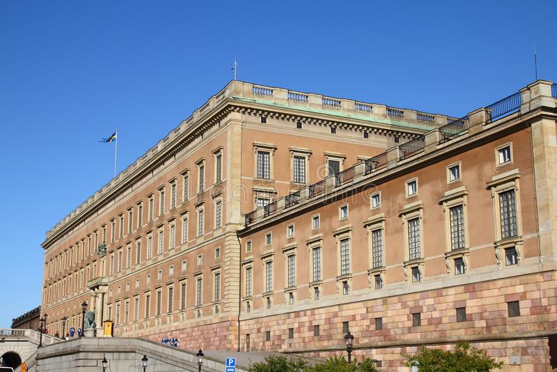 Stockholm-königlicher Palast stockfotografie