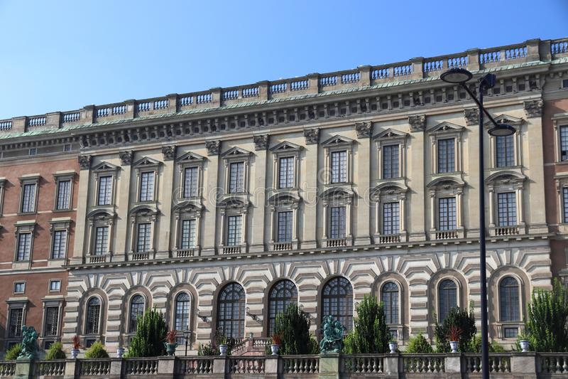 Stockholm-königlicher Palast stockfoto