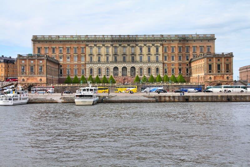 Stockholm-königlicher Palast lizenzfreie stockfotografie