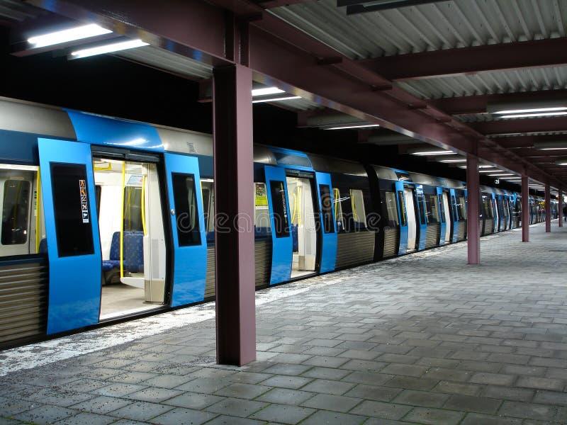 stockholm metro zdjęcie royalty free