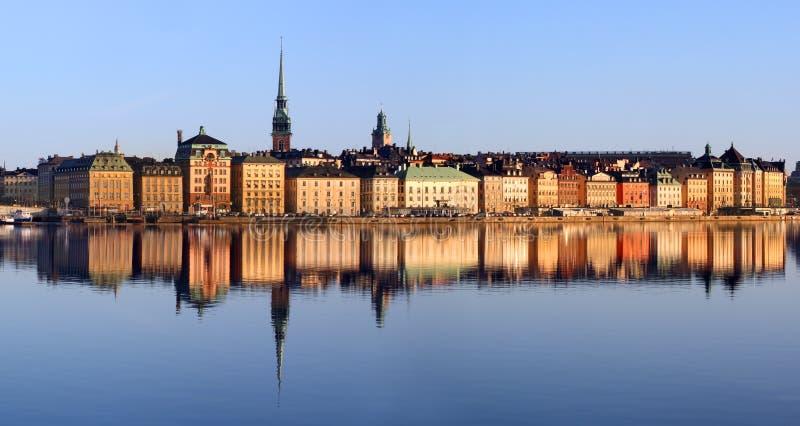 Stockholm miasta obrazy royalty free