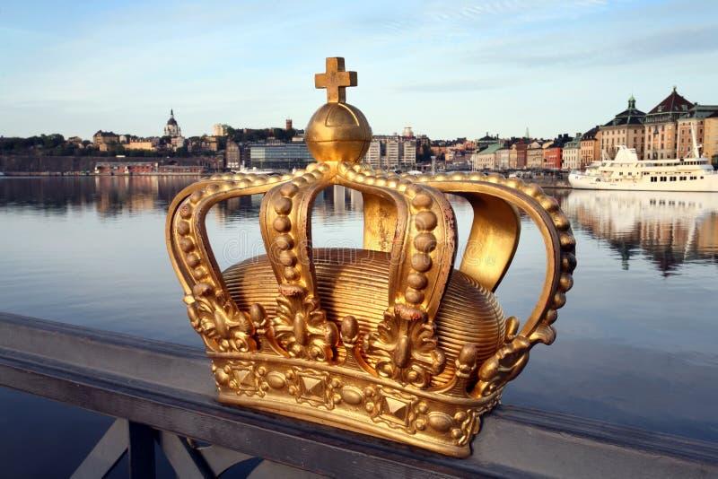 Stockholm miasta obraz royalty free