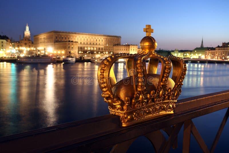 Stockholm miasta fotografia royalty free