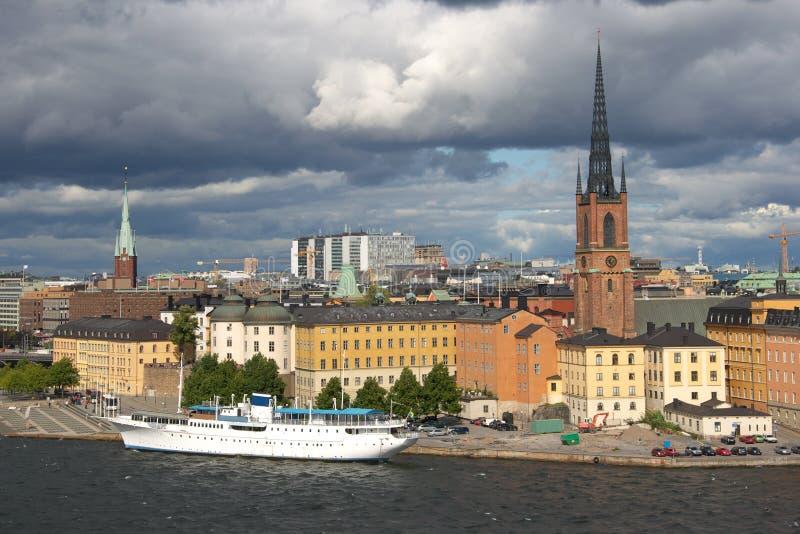 Stockholm miasta zdjęcia royalty free