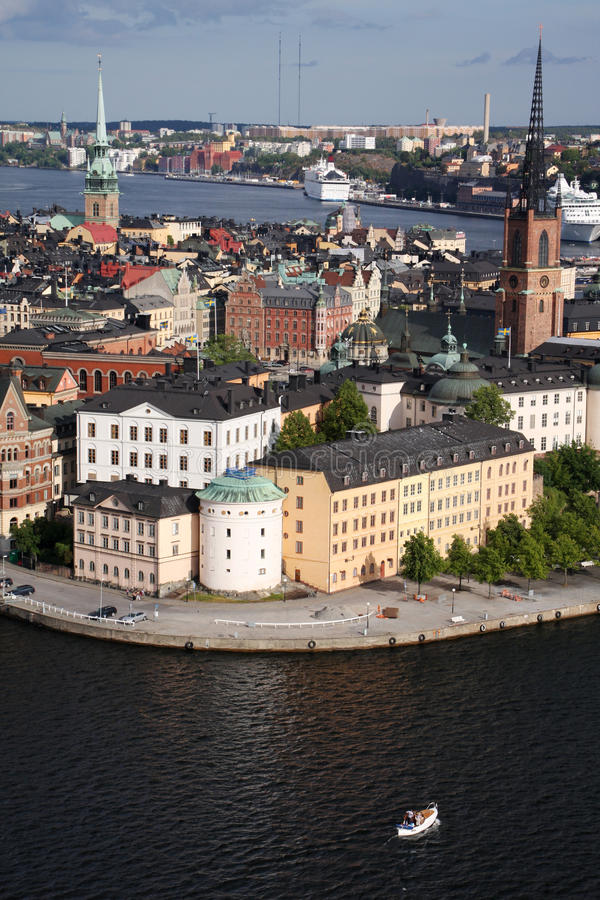 Download Stockholm old town stock photo. Image of cityscape, building - 20708298