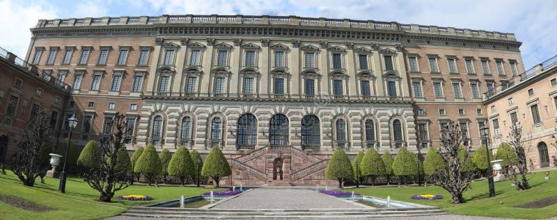 Stockholm pa?ac kr?lewski zdjęcie royalty free