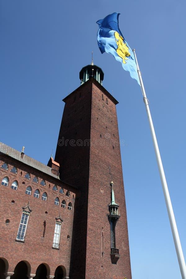Stockholm ratusz. zdjęcie royalty free