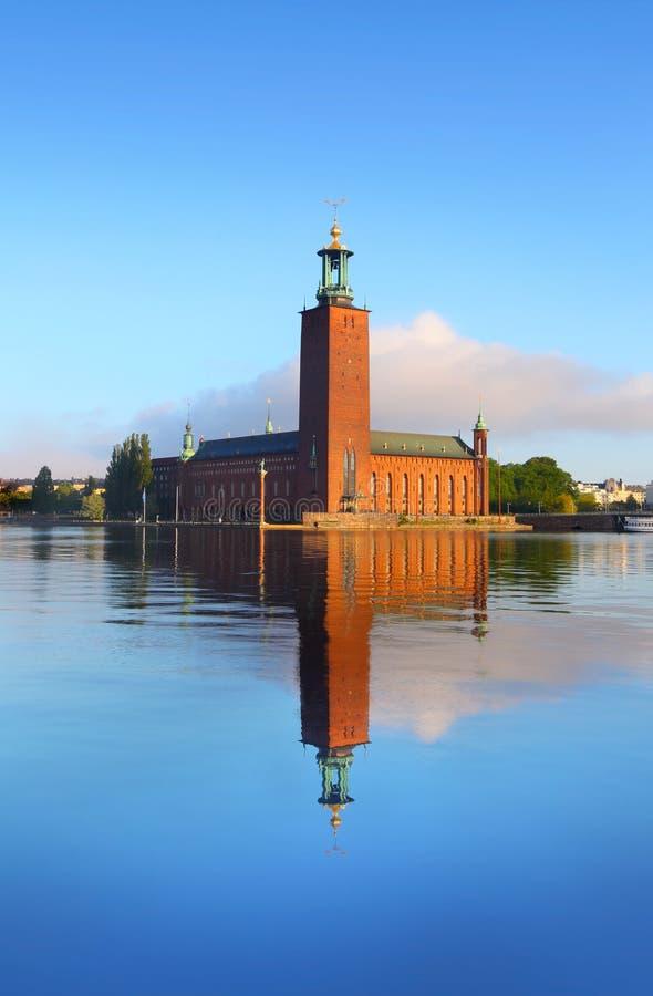 Stockholm ratusz zdjęcie royalty free