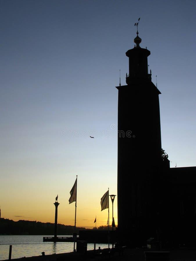 stockholm słońca zdjęcia stock