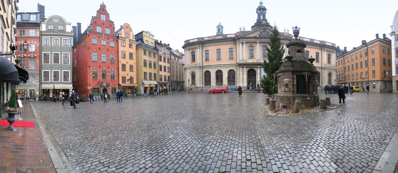 Stockholm's Old Town royalty free stock photo