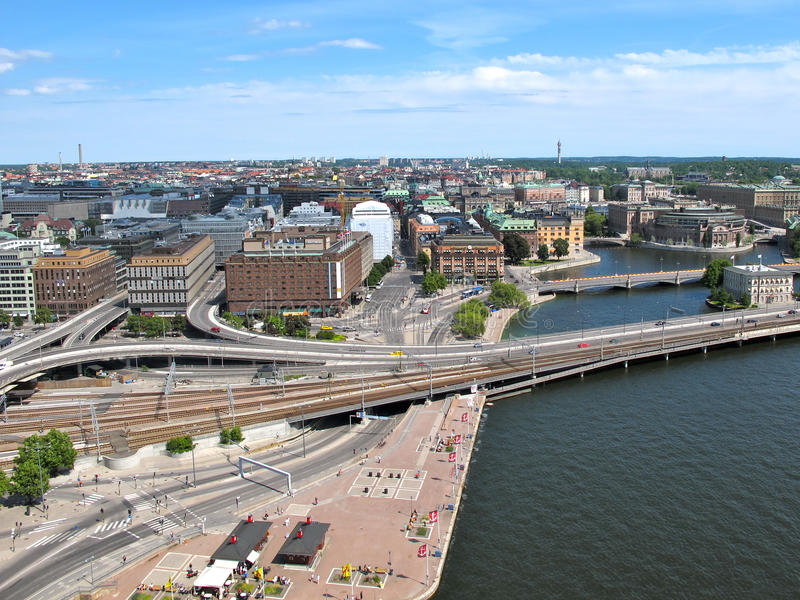 Stockholm, Schweden lizenzfreie stockbilder