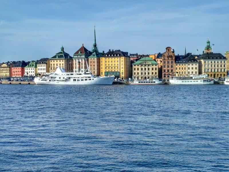 Stockholm-Schwingungen stockfotografie