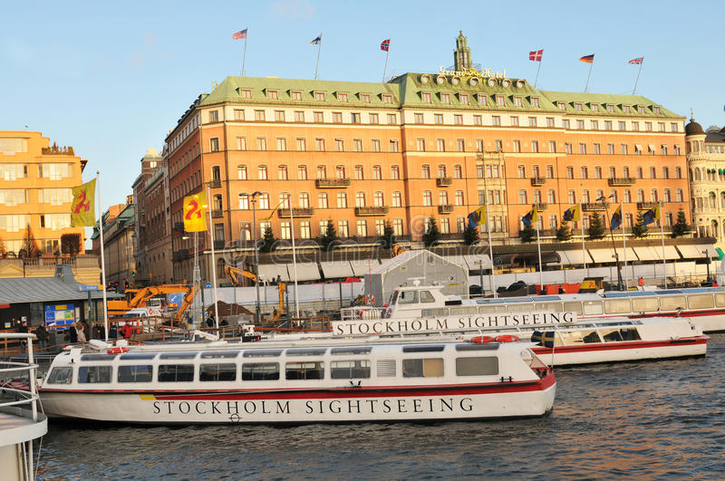 Stockholm Sightseeing Editorial Photography