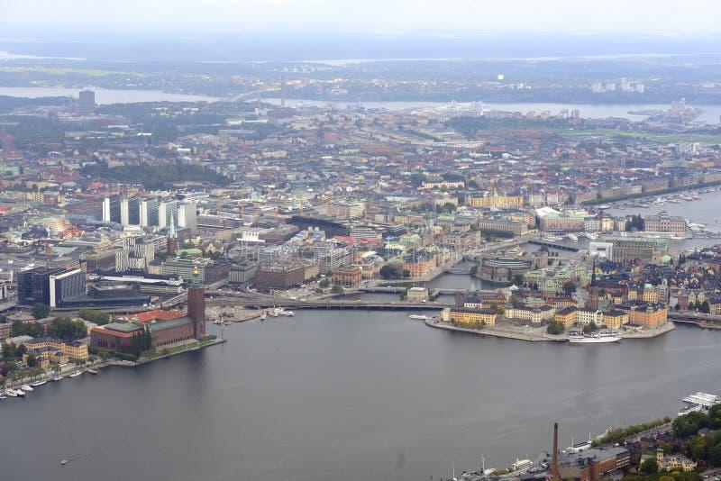 Stockholm sikt arkivbilder