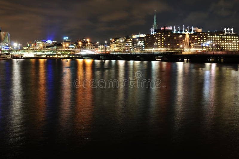 Download Stockholm skyline editorial photo. Image of estuary, reflection - 22844941