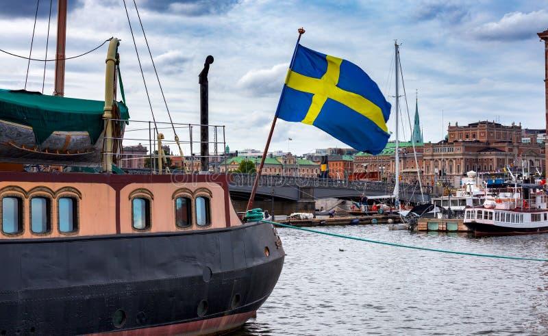 Stockholm Stadsbanken royalty-vrije stock foto's