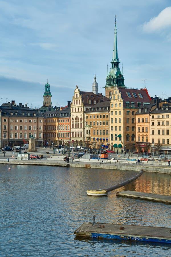 stockholm stary miasteczko fotografia stock