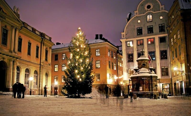 stockholm stortorget Sweden obrazy royalty free