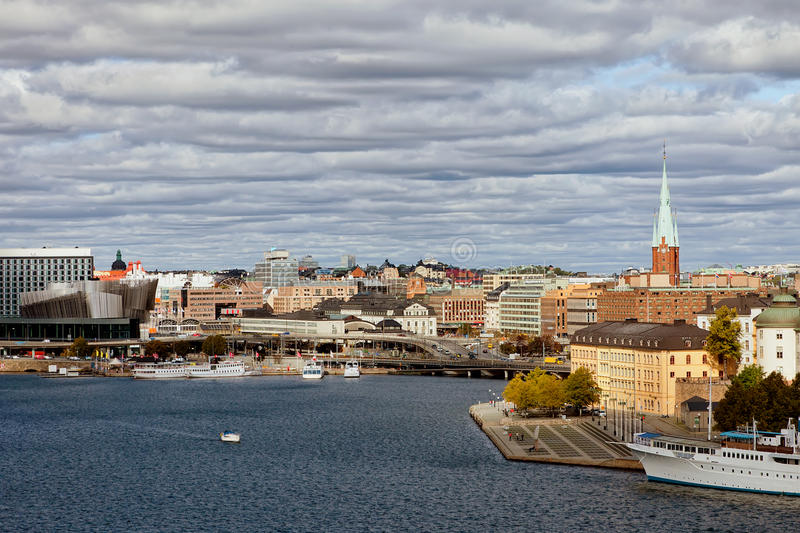 Download Stockholm, Sweden stock image. Image of beautiful, clouds - 21538159
