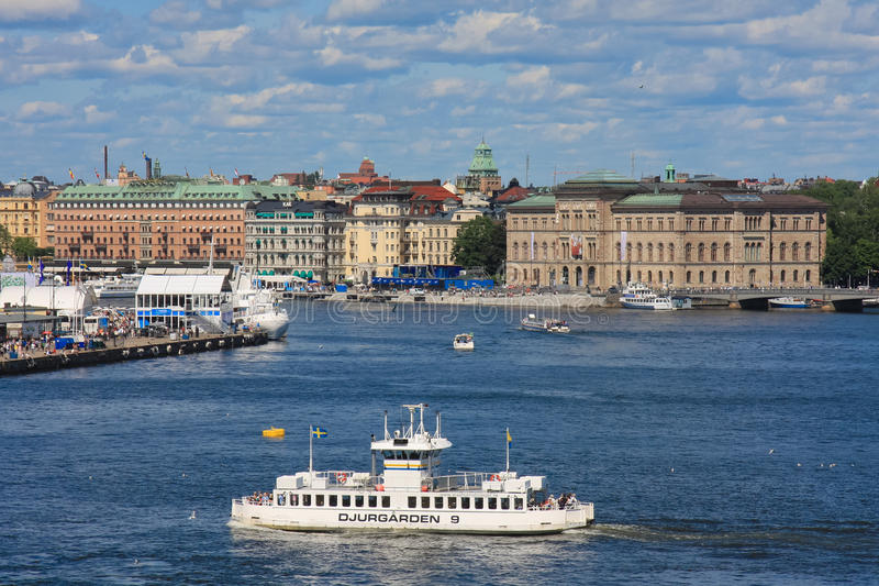 Stockholm, Sweden Editorial Stock Photo