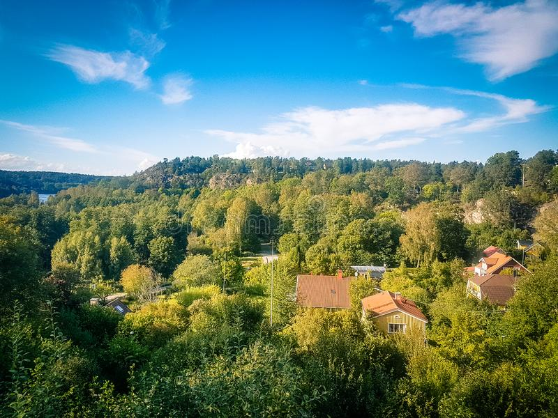 Stockholm sweden countryside nature woodland view. Shot of Stockholm sweden countryside nature woodland view stock images