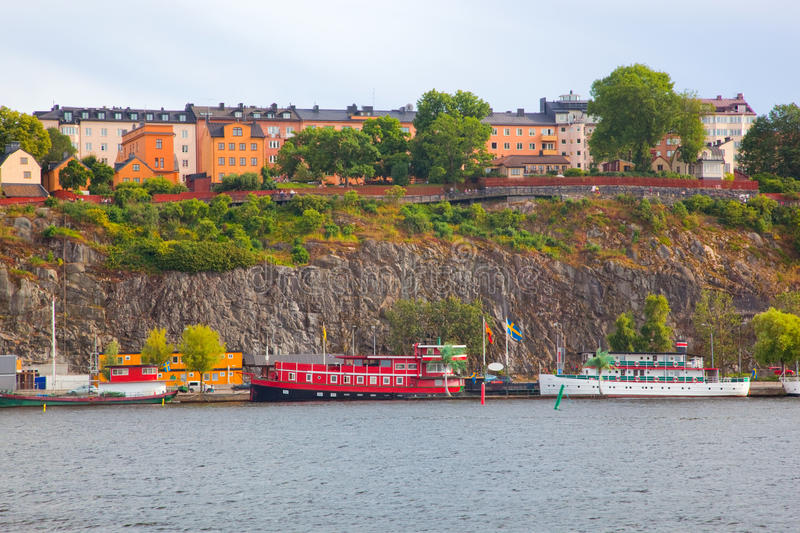 Download Stockholm, Sweden In Europe. Waterfront View Stock Image - Image: 20780581