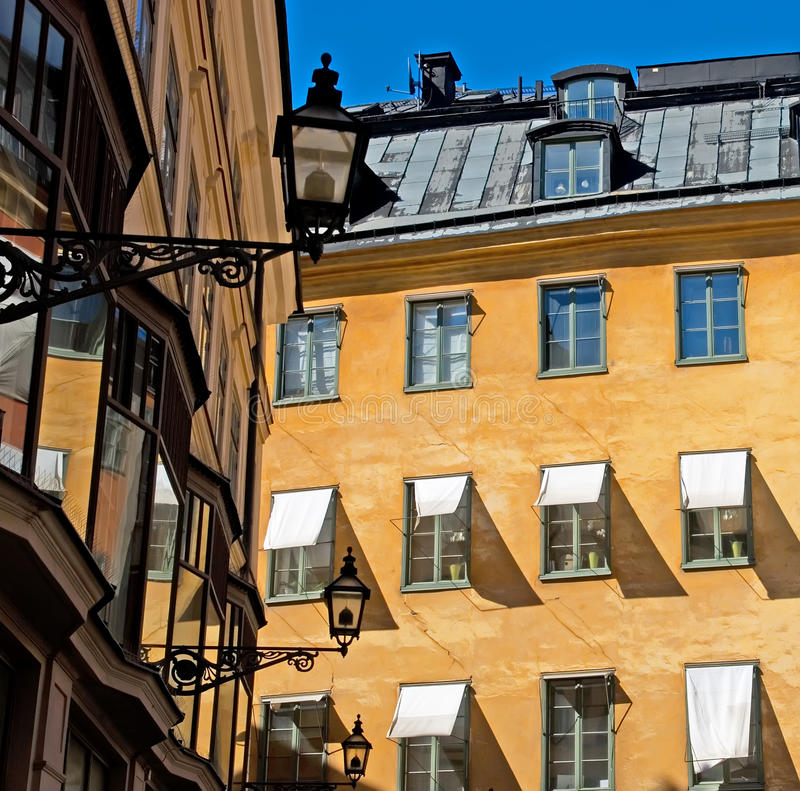 Stockholm. Sweden. Gamla Stan Royalty Free Stock Photo