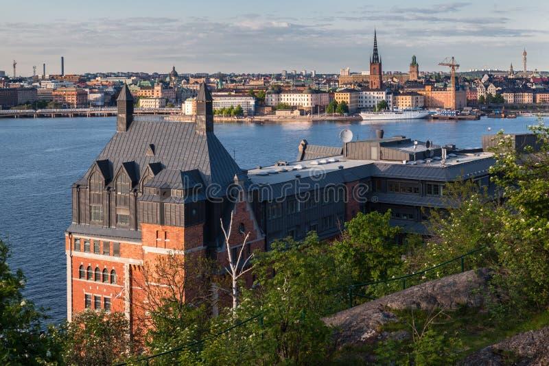 Download Stockholm Sweden stock image. Image of trees, brick, ridarfjarden - 32638141