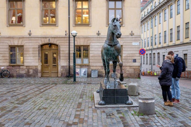 Blasieholmen square, Stockholm royalty free stock image