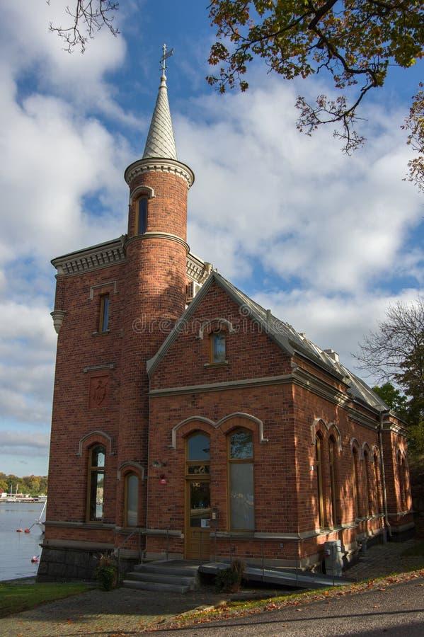 download stockholm sweden october 15 2016 brick castle skridskopaviljongen on the island