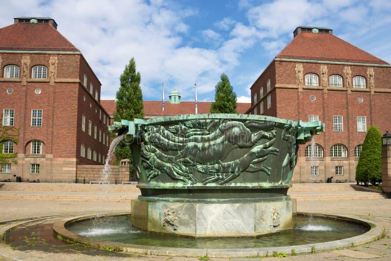 stockholm uniwersytet fotografia stock