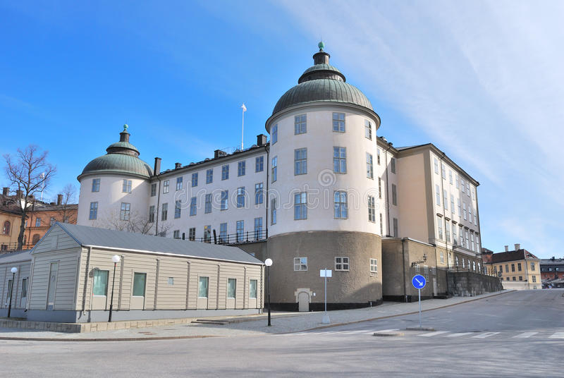 Stockholm. Wrangel Palace royalty free stock images