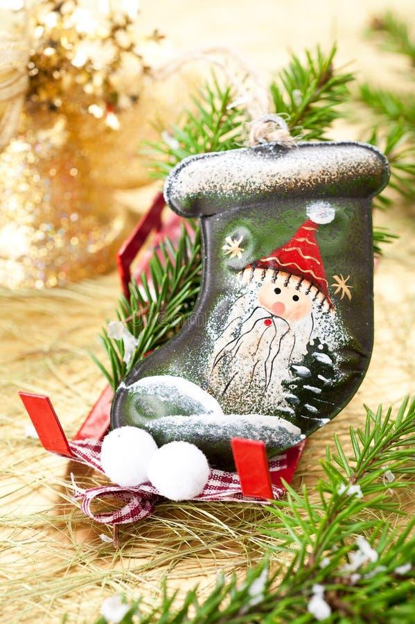 Download Stocking Santa Claus stock photo. Image of background - 27760636
