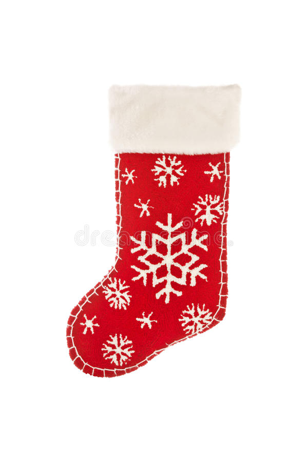 Download Stocking stuffer on white stock image. Image of hanging - 21456287
