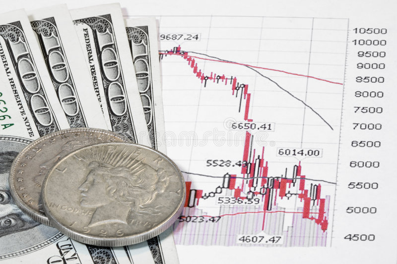 Stocks And Cash Stock Image