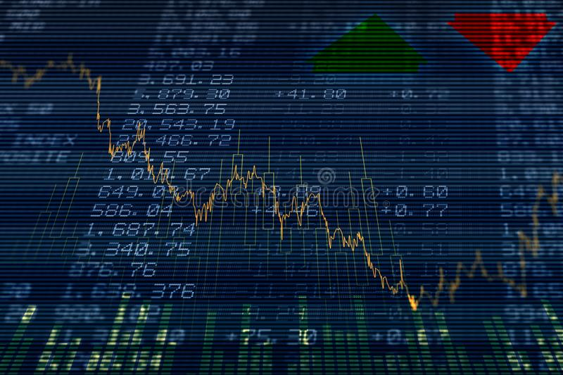 Stocks and shares stock photos