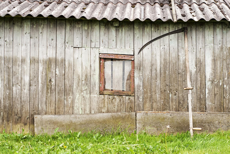 stodole drewniany fotografia stock
