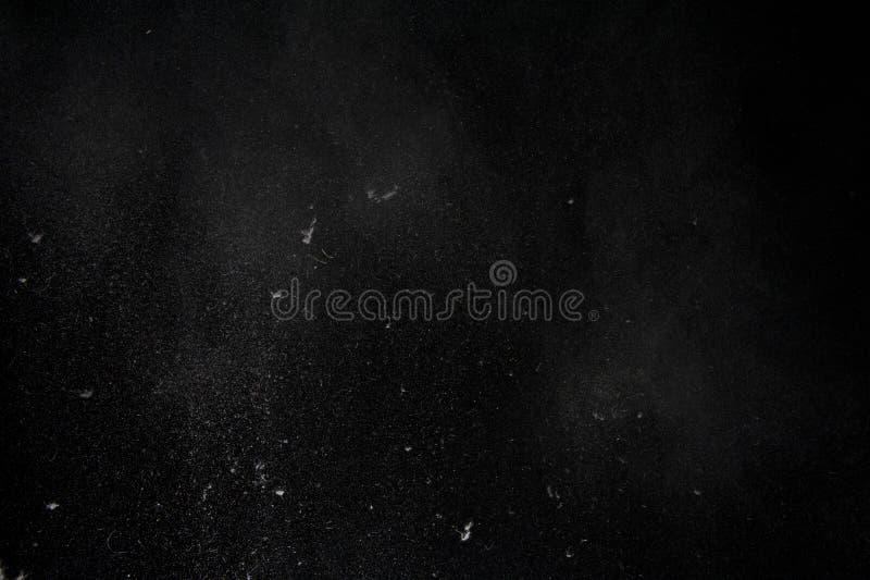 Stof op zwarte royalty-vrije stock fotografie