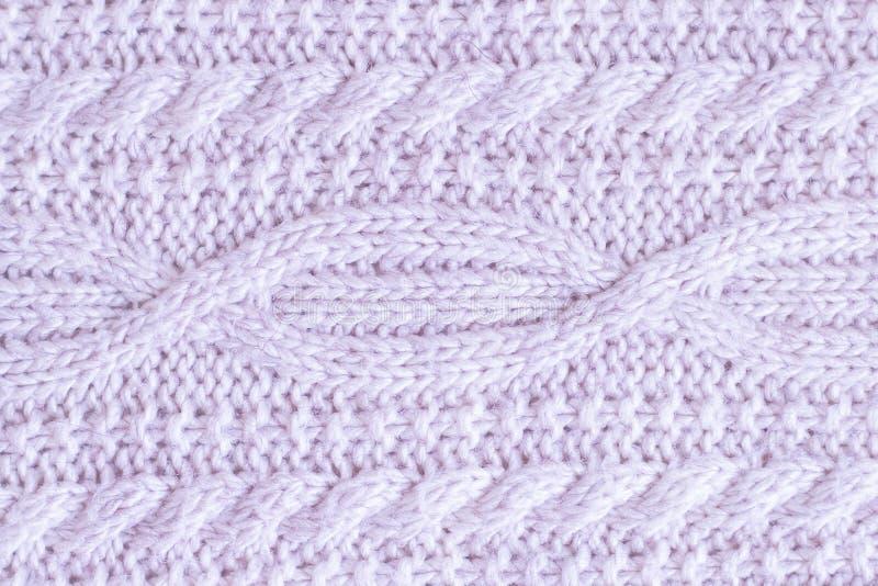 Stof van wol wordt gemaakt die royalty-vrije stock afbeelding